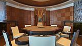 Barbara yacht dining room