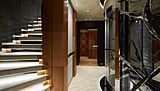 Barbara yacht hall and staircase