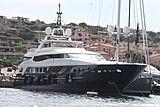 Blue Scorpion yacht in Port Cervo