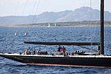 Firefly yacht cruising off Porto Cervo