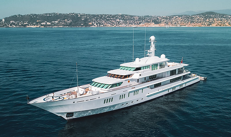 Siran yacht by Feadship
