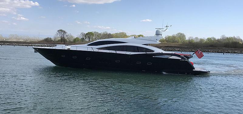 KIAN yacht Sunseeker