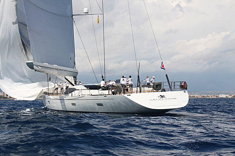 Salperton yacht stern