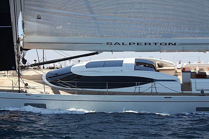 Salperton yacht deck