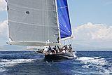 Velsheda yacht stern