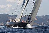 Velsheda yacht bow