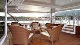 Lady Christine yacht deck