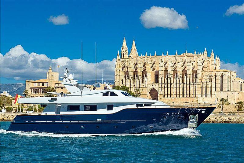 Virgen del Mar V yacht off Palma