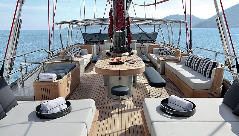 Seahawk yacht flybridge