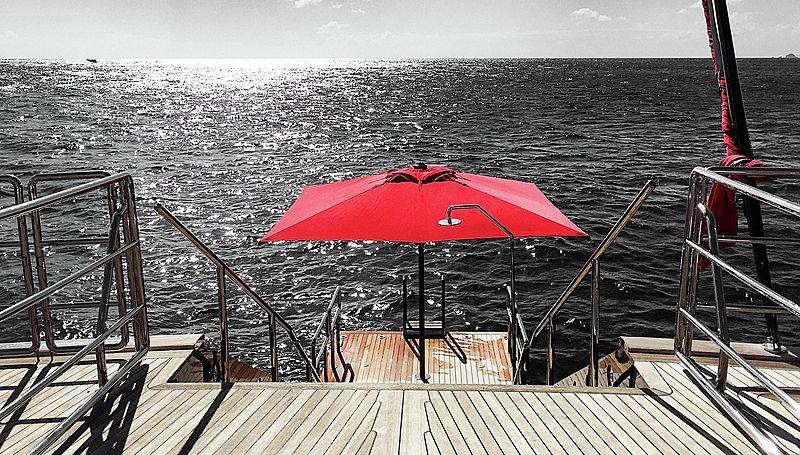 Seahawk yacht deck