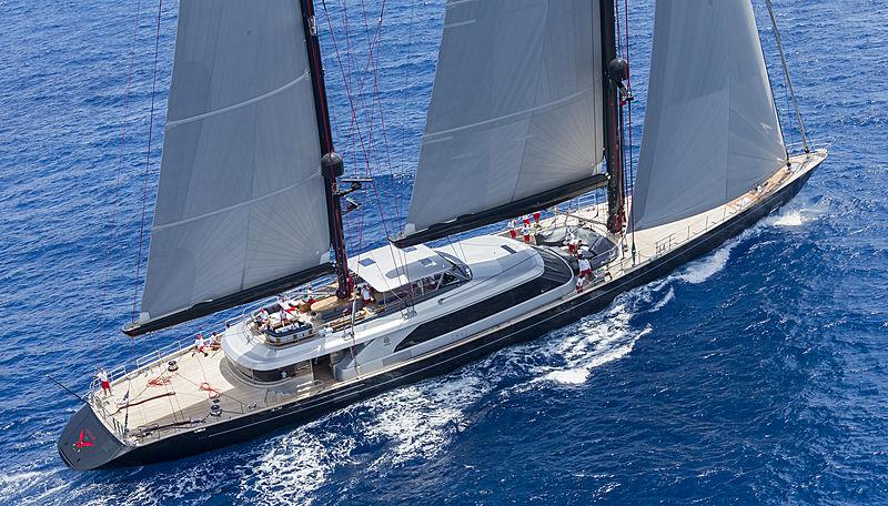 Seahawk yacht sailing