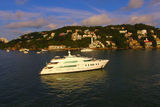 Raffaella II anchored