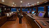 J'Ade yacht wheelhouse