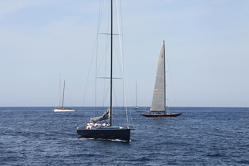 Highland Fling yacht XI arriving in Porto Cervo