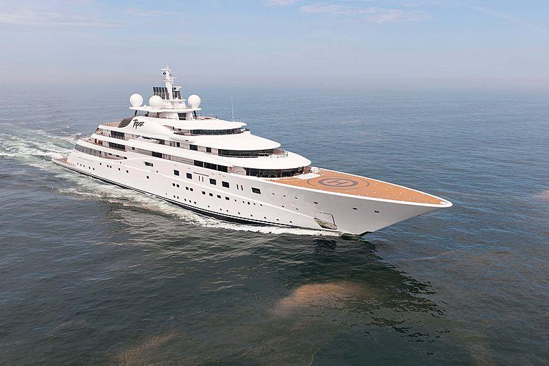 Topaz yacht
