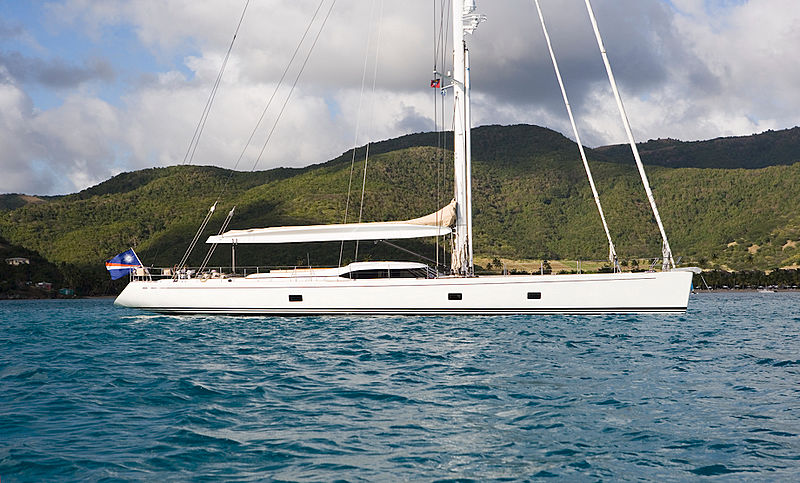 Rapture sailing yacht exterior