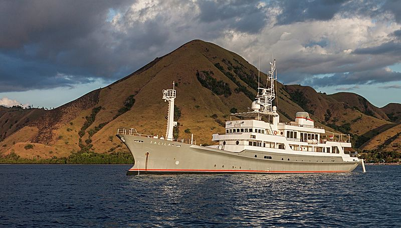 SALILA yacht Kanasashi Heavy Industries