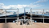 Galileo G yacht deck