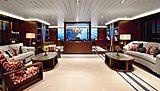 Galileo G yacht saloon