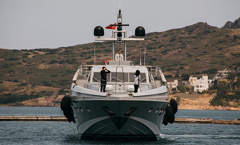 Protect 136 yacht in Yalikavak Marina