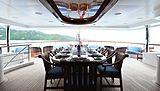 Lady Michelle yacht deck