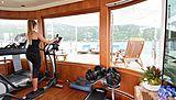Lady Michelle yacht gym