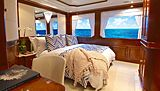 Lady Michelle yacht stateroom