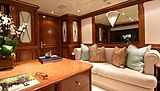 Lady Michelle yacht study room