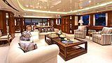 Lady Michelle yacht saloon