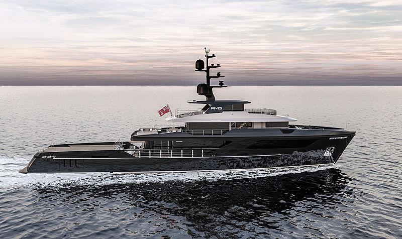 AMO yacht Sanlorenzo