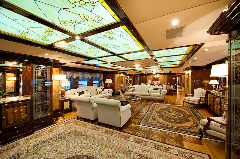 Iman yacht saloon