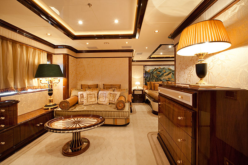 Iman yacht guest stateroom