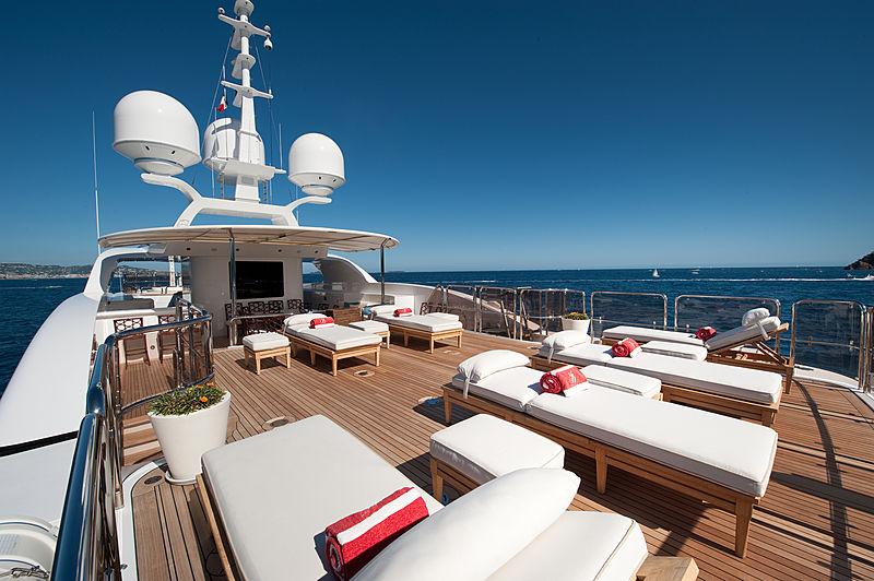 Iman yacht exterior