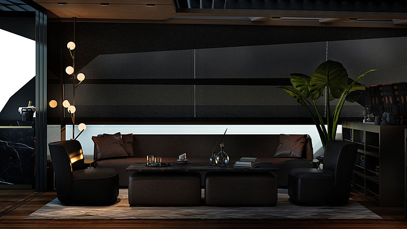 Mazu 82/01 yacht interior design