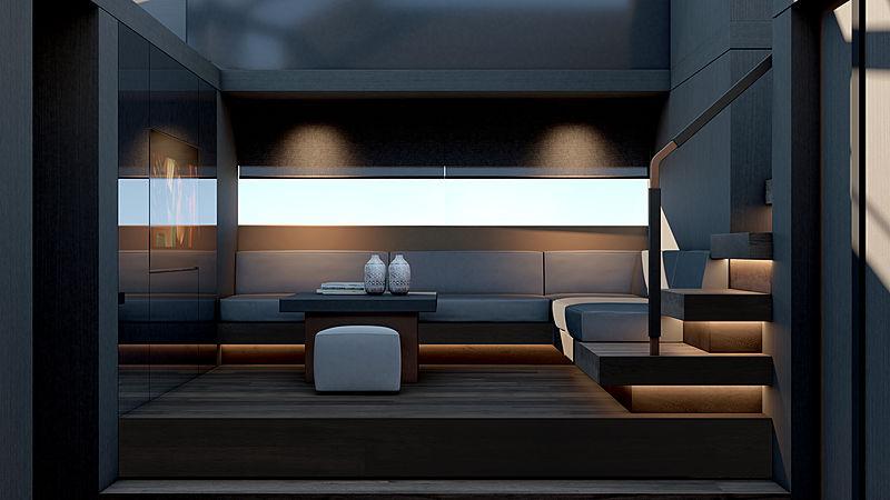 Mazu 82/01 yacht interior design