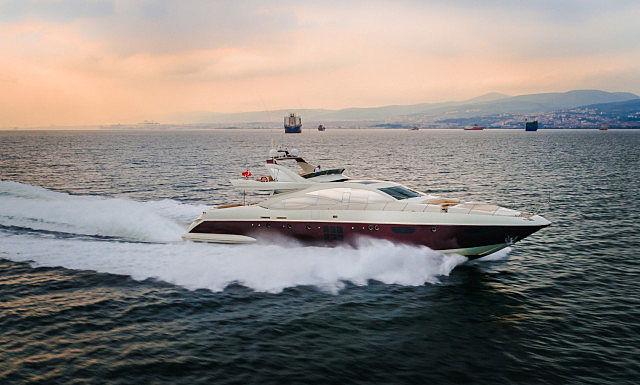 SHU SHE yacht Azimut