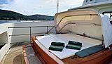 Steel yacht exterior