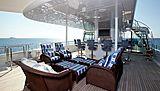 Emelina yacht deck