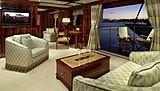 Emelina yacht saloon