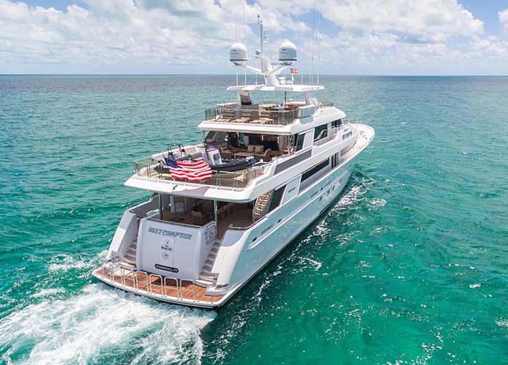 Next Chapter yacht cruising