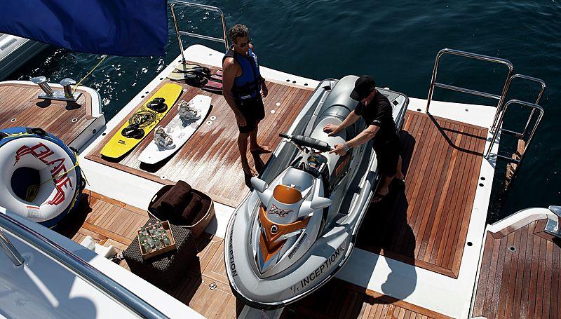 Inception yacht toys