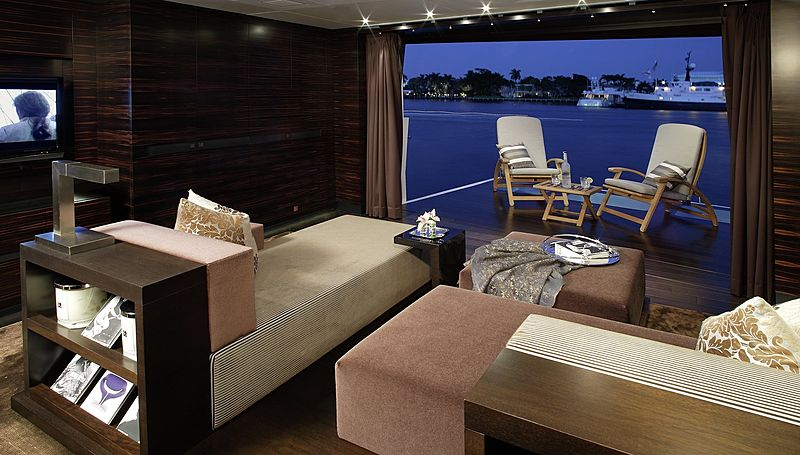 Inception yacht saloon