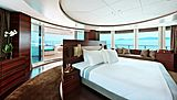Inception yacht stateroom
