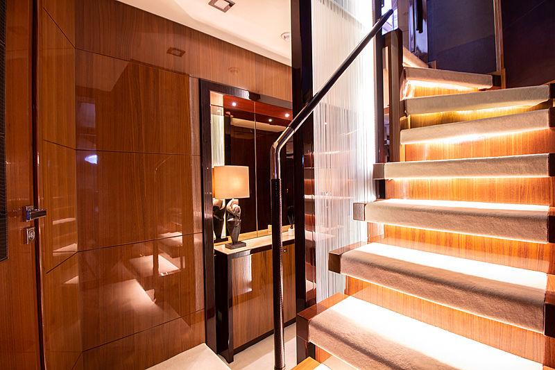 Seabeach yacht staircase