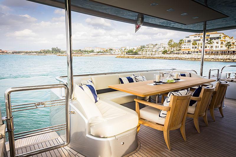Seabeach yacht deck