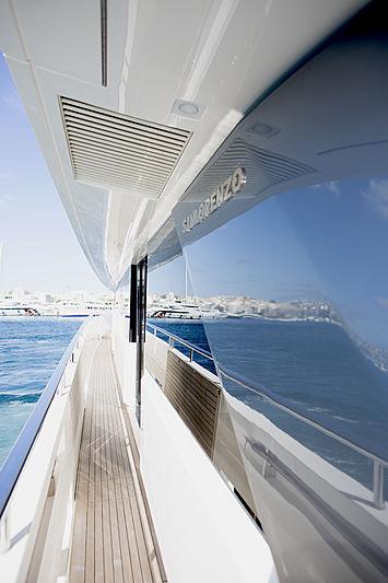 GB2 yacht side deck