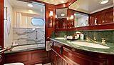 Mary A yacht bathroom