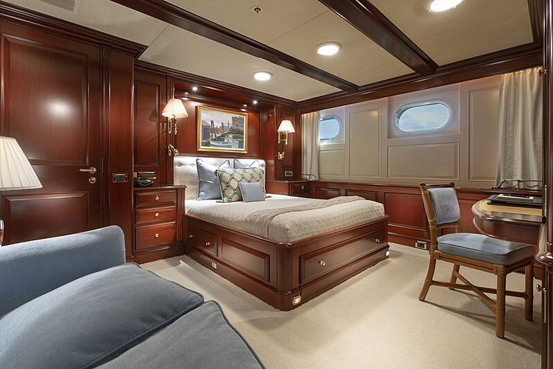 Mary A yacht stateroom