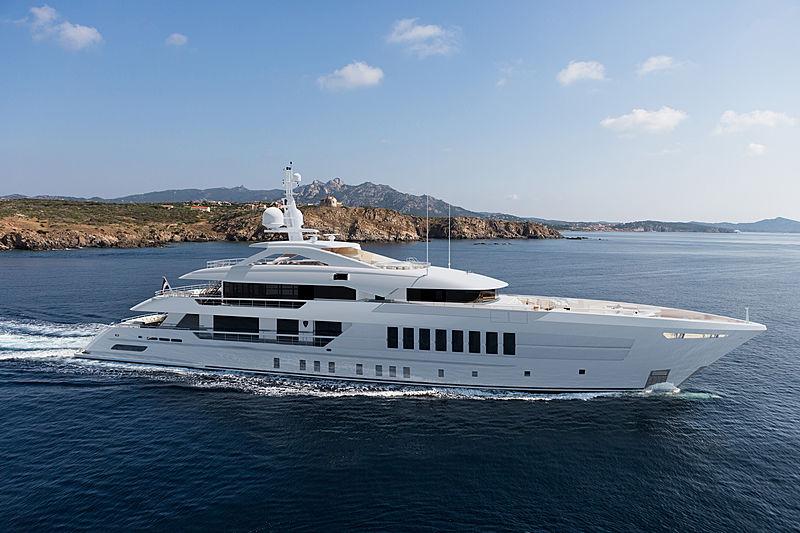 Heesen Project Castor yacht exterior design