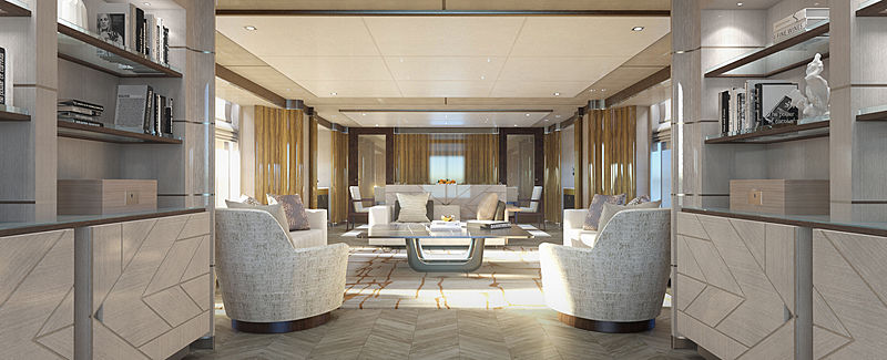 Heesen Project Castor yacht interior design